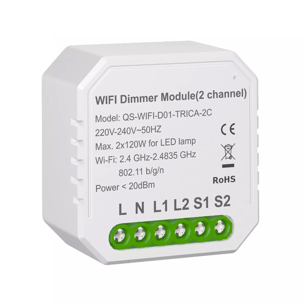 WiFi Dimmer Module for Smart Home Lighting